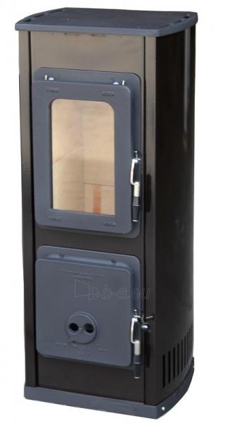 Plieninė krosnelė Thorma Verona, juoda Paveikslėlis 4 iš 5 310820254775