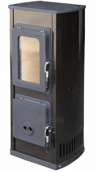 Plieninė krosnelė Thorma Verona, juoda Paveikslėlis 5 iš 5 310820254775