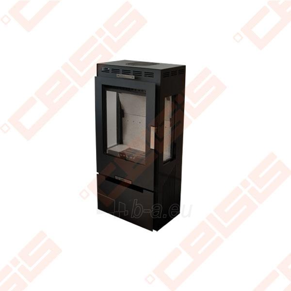 Plieninė krosnelė Vienybė SLIM (486x991,5x356) 4,5kW Paveikslėlis 1 iš 1 310820072340