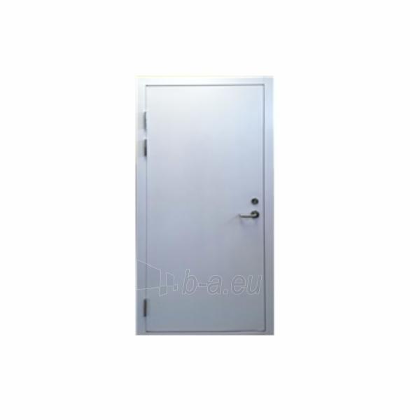 Steel doors VTD-01 860x85x2050 mm white dešinės Paveikslėlis 1 iš 1 237930200127