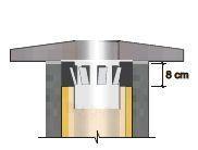 Skārda krūzītes FIBO Ø  160 mm Paveikslėlis 1 iš 1 2388100000001
