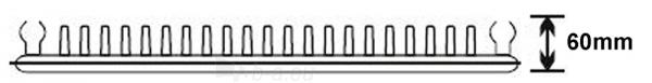 Plieninis radiatorius 11 600x500 apatinio paj. Paveikslėlis 1 iš 3 270622001889