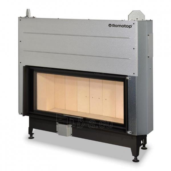 Plieninis židinio ugniakuras KV HEAT H3LG01 110.50.01 su pak. 50x110 cm (Z2ROM-H2LG01)1 Paveikslėlis 1 iš 2 310820165806