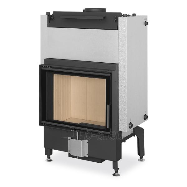 Plieninis židinio ugniakuras Romotop Dynamic DW2M01 66.50.01 su šilumokaičiu Paveikslėlis 1 iš 2 310820254470