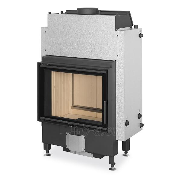 Plieninis židinio ugniakuras Romotop Dynamic DWB2M01 66.50.01 su šilumokaičiu Paveikslėlis 1 iš 2 310820254480