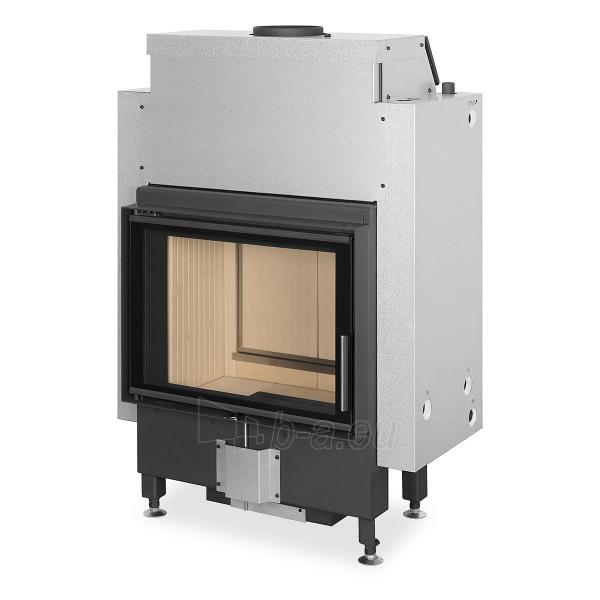 Plieninis židinio ugniakuras Romotop Dynamic DWB2M01P 66.50.01P su šilumokaičiu Paveikslėlis 1 iš 2 310820254481