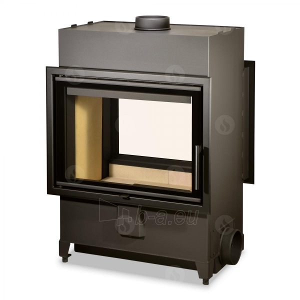 Plieninis židinio ugniakuras Romotop Heat TUNNEL 70.50.01 Paveikslėlis 1 iš 2 310820165818