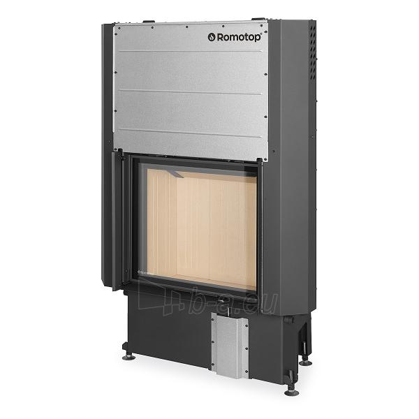 Plieninis židinio ugniakuras Romotop IMPRESSION 2G L 67.60.01 su pakeliamomis durimis Paveikslėlis 1 iš 3 310820254478