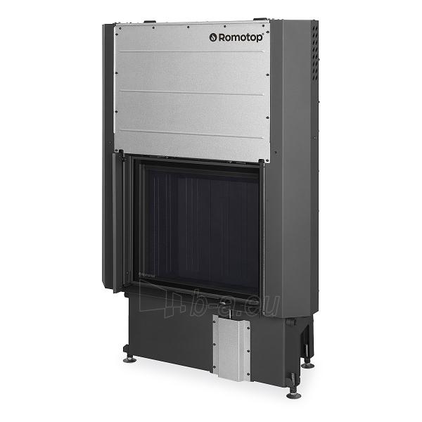 Plieninis židinio ugniakuras Romotop IMPRESSION 2G L 67.60.01 su pakeliamomis durimis Paveikslėlis 2 iš 3 310820254478