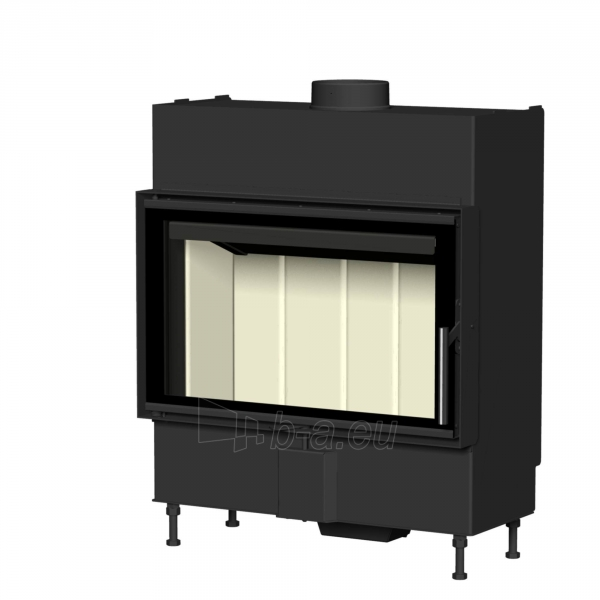 Plieninis židinio ugniakuras Romotop KV HEAT H2P01 70.44.01 (gylis 490mm) Paveikslėlis 1 iš 2 310820163779