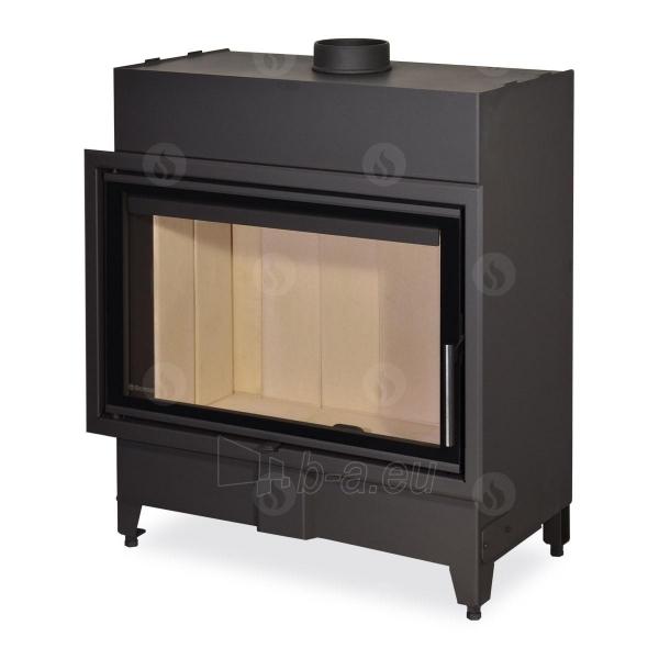 Plieninis židinio ugniakuras Romotop KV HEAT H2X 01 - 80.50 Paveikslėlis 1 iš 2 310820165802