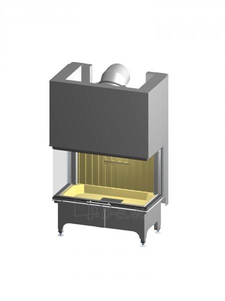 Plieninis židinio ugniakuras Spartherm Arte 3RLh-100h-4S, su tonuotomis stiklo kraštinėmis Paveikslėlis 1 iš 2 310820254442