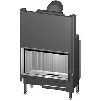 Plieninis židinio ugniakuras Spartherm Premium V-1V-87h, ø200 mm Paveikslėlis 1 iš 3 310820254539