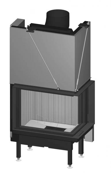 Plieninis židinio ugniakuras Spartherm Premium V-2R-68h, ø200 mm Paveikslėlis 1 iš 2 310820254541