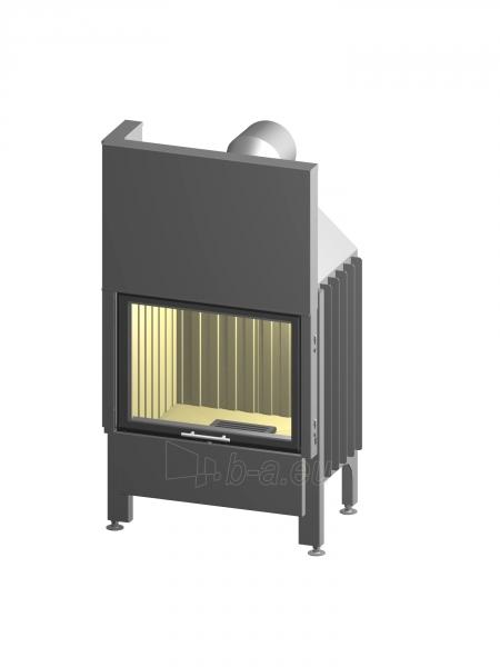 Plieninis židinio ugniakuras Spartherm Varia 1Vh-4S, stiklo aukštis 51,3 cm Paveikslėlis 2 iš 2 310820254443