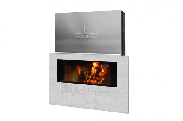 Plieninis židinys Spartherm Premium V-ASh S su betono imitacija Paveikslėlis 1 iš 4 310820165824