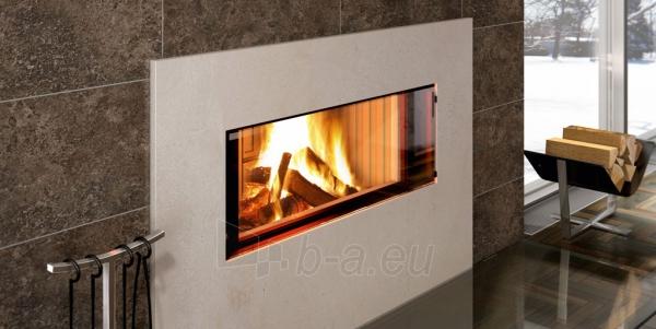 Plieninis židinys Spartherm Premium V-ASh S su betono imitacija Paveikslėlis 3 iš 4 310820165824