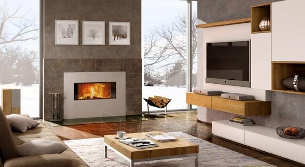 Plieninis židinys Spartherm Premium V-ASh S su betono imitacija Paveikslėlis 4 iš 4 310820165824