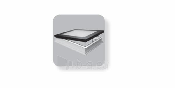 Plokščias langas DMF DU8 90x120 cm. Paveikslėlis 3 iš 3 310820022554