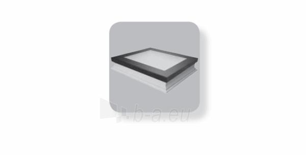 Plokščias langas DXF DU8 90x90 cm. Paveikslėlis 1 iš 3 310820022579