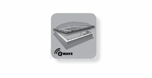 Plokščių stogų langas DEC-C P2 80x80 cm. Paveikslėlis 2 iš 2 310820022608