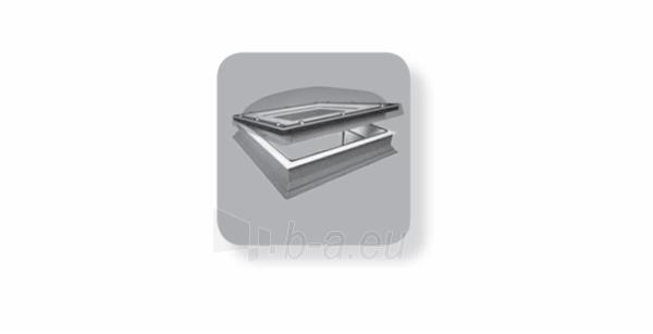 Plokščių stogų langas DMC-C P2 60x60 cm. Paveikslėlis 2 iš 2 310820022612