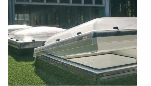 Plokščių stogų langas DMC-C P2 80x80 cm. Paveikslėlis 1 iš 2 310820022615