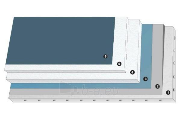 Polyester plate. putas EPS80 (1000x1000x250) Paveikslėlis 1 iš 1 237220500029