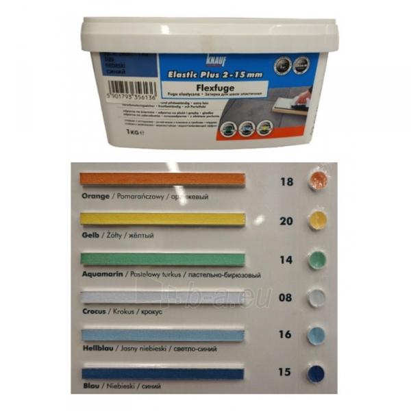 Plytelių glaistas 18 Flexfuge 1 kg Orange 205397 Paveikslėlis 1 iš 1 310820012020