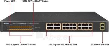 PoE šakotuvas 24 portų,GSW-2620HP, 1000M Paveikslėlis 1 iš 1 310820025494