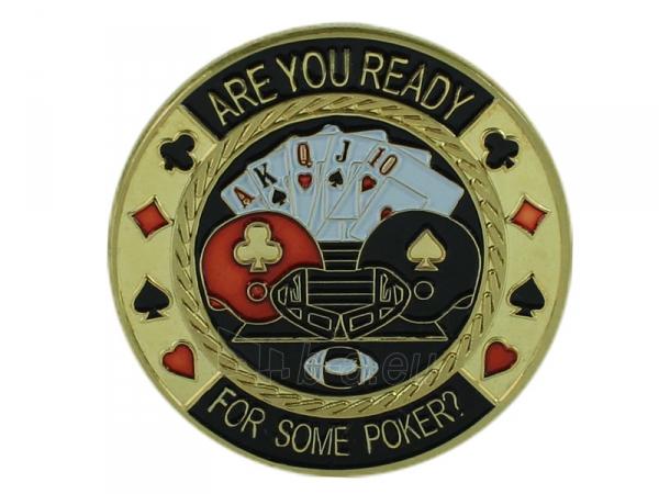 """Pokerio kortų saugas """"Are you Ready"""" Paveikslėlis 3 iš 3 251010000107"""