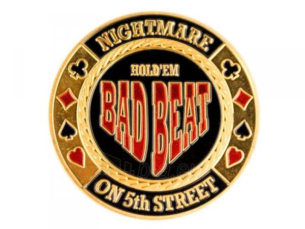 """Pokerio kortų saugas """"Bad Beat"""" Paveikslėlis 3 iš 3 251010000108"""