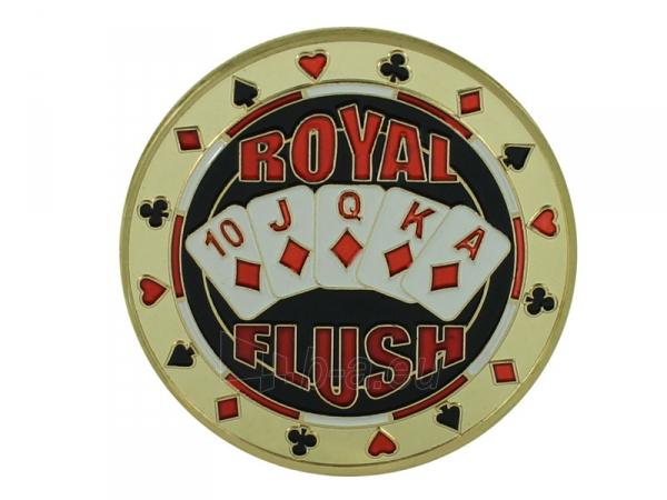 """Pokerio kortų saugas """"Royal Flush"""" Paveikslėlis 1 iš 3 251010000115"""