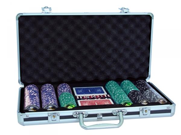 Pokerio rinkinys - Clay Tournament Design 300 Paveikslėlis 1 iš 7 251010000073