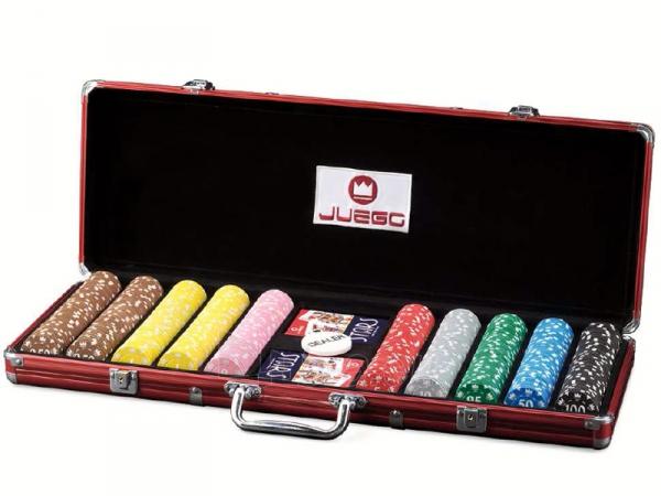 Pokerio rinkinys - Juego Poker 500 Paveikslėlis 1 iš 4 251010000081