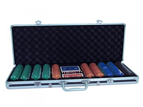 Pokerio rinkinys - Suited Design 500 Paveikslėlis 1 iš 7 251010000123