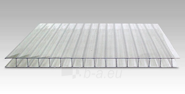Polycarbonate 8x2100x6000 mm (12,6 m²) transparent Paveikslėlis 1 iš 1 237160000130