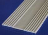 Polikarbonato plokščių apatinis profilis iš gumos Paveikslėlis 1 iš 1 237112500065