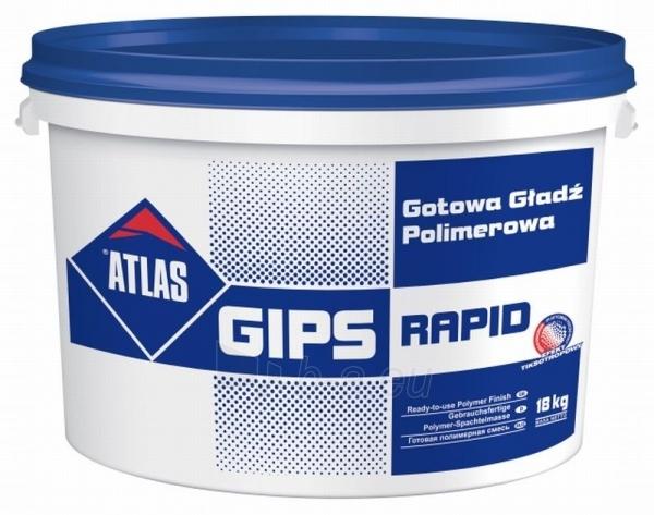 Polimerinis glaistas Rapid 18 kg Paveikslėlis 1 iš 1 236506000106