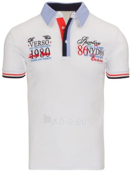 Polo marškinėliai Belknap (Balti) Paveikslėlis 1 iš 7 310820031982