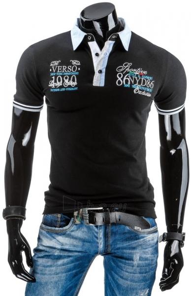 Polo marškinėliai Belknap (Juodi) Paveikslėlis 1 iš 6 310820043487