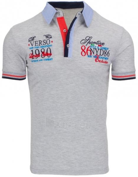 Polo marškinėliai Belknap (Pilki) Paveikslėlis 1 iš 7 310820031983