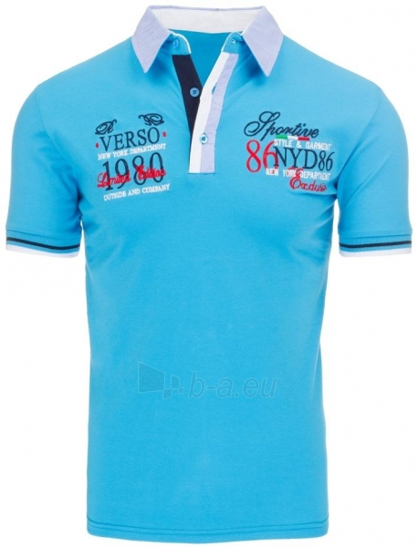 Polo marškinėliai Belknap (Turkis) Paveikslėlis 1 iš 7 310820031984