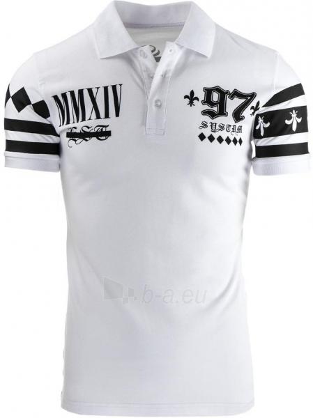 Polo marškinėliai MMXIV (Balti) Paveikslėlis 1 iš 2 310820032322