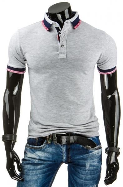 Polo marškinėliai Pawtucket (Pilki) Paveikslėlis 1 iš 6 310820032117