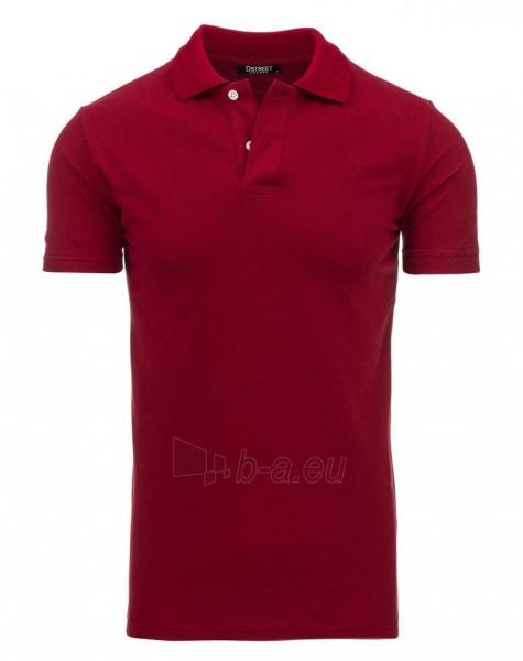 Polo marškinėliai Round ((bordinės spalvos)) Paveikslėlis 1 iš 1 310820032815