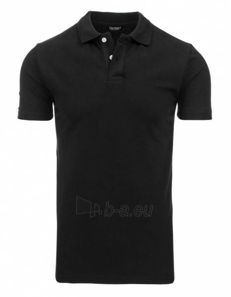 Polo marškinėliai Round (Juodi) Paveikslėlis 1 iš 1 310820032825