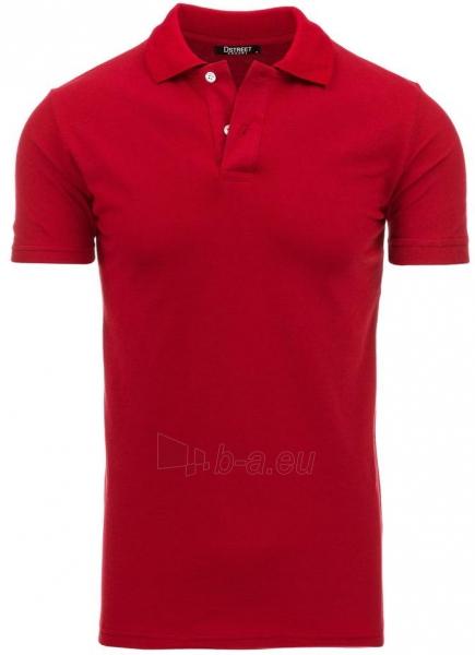 Polo marškinėliai Round (Raudoni) Paveikslėlis 1 iš 1 310820032823