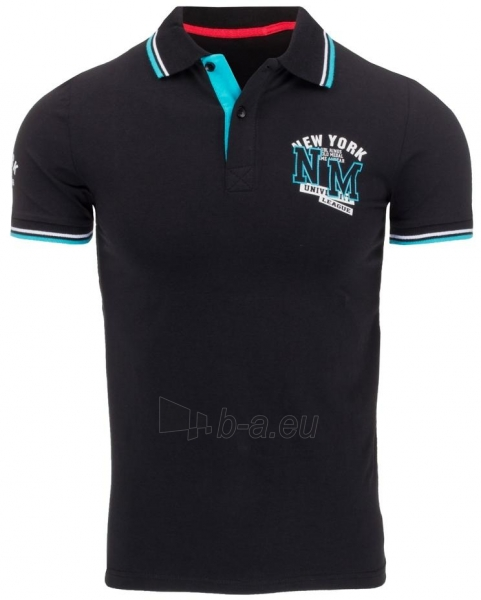 Polo marškinėliai Shirley (Juodi) Paveikslėlis 1 iš 5 310820032001