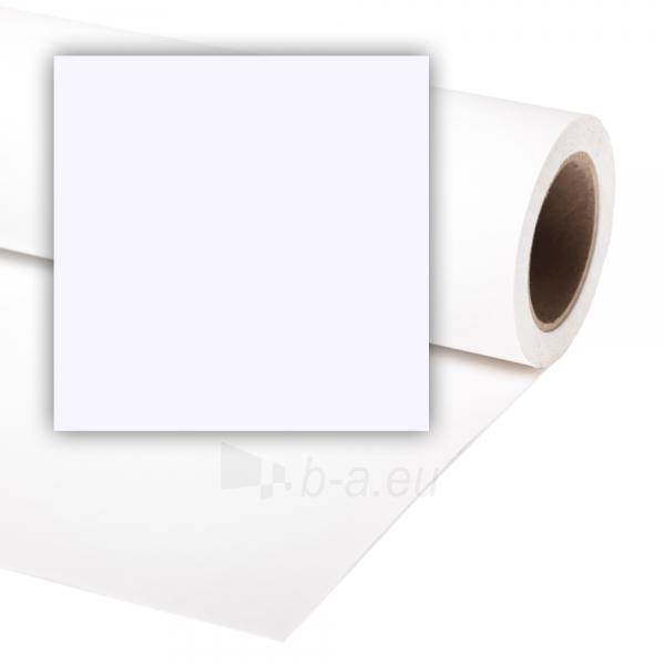 Popierinis fonas Colorama 1,35x11m Arctic White Paveikslėlis 1 iš 1 30025600891